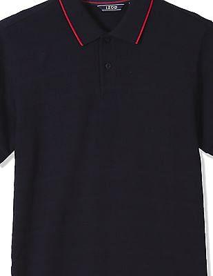 Izod Textured Cotton Polo Shirt