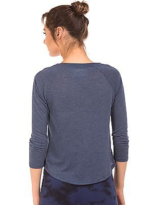 Aeropostale Raglan Sleeve Printed T-Shirt