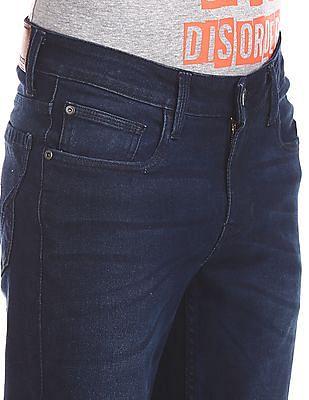 Cherokee Blue Slim Fit Dark Wash Jeans