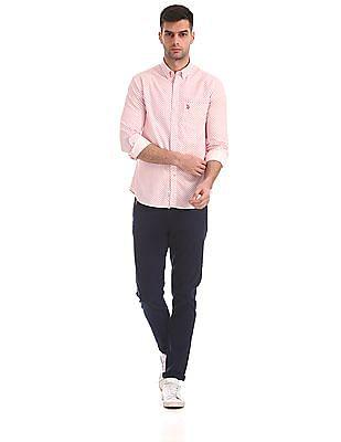 U.S. Polo Assn. Regular Fit Star Print Shirt
