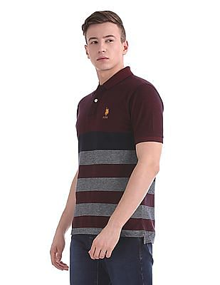 U.S. Polo Assn. Regular Fit Two Tone Polo Shirt