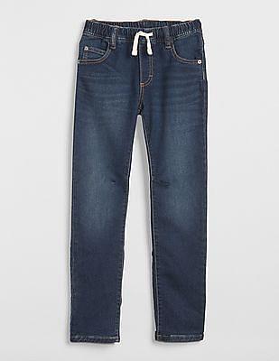 GAP Blue Boys Slim Jeans With Fantastiflex