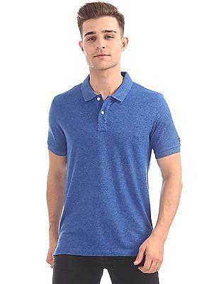 Arrow Sports Regular Fit Grindle Knit Polo Shirt