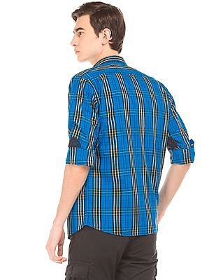 Ruggers Check Contemporary Fit Shirt