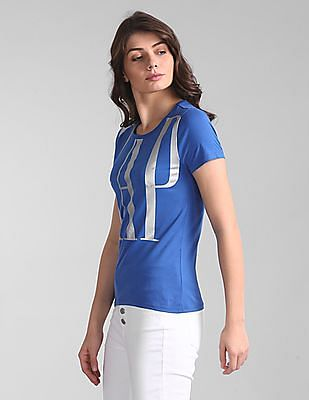 GAP Logo Printed Cotton T-Shirt