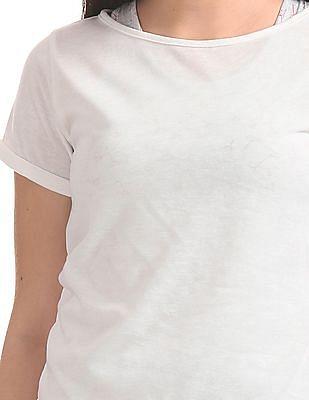 SUGR Printed Layered Top