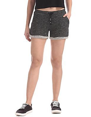 EdHardy Women Heathered Knit Shorts