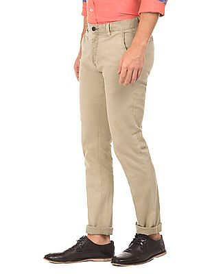 Arrow Sports Slim Fit Cotton Lycra Chinos
