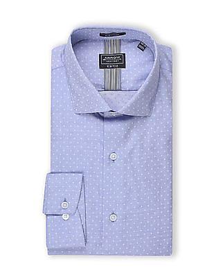 Arrow Newyork Slim Fit Chambray Shirt