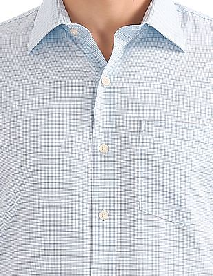 Arrow Slim Fit Check Shirt