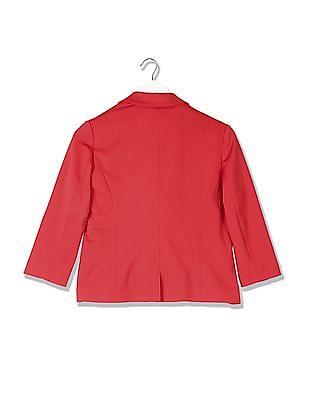 Flying Machine Women Standard Fit Solid Jacket