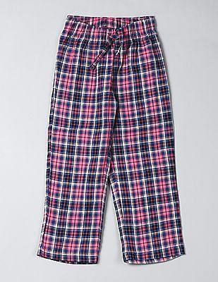 GAP Boys Plaid Flannel PJ Pants