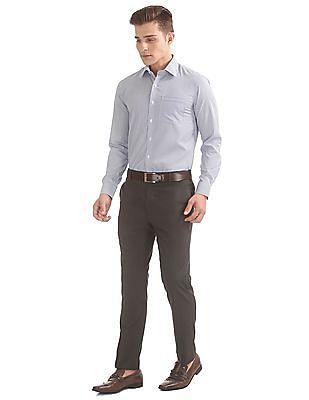 Arrow French Placket Striped Shirt