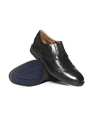 Arrow Wingtip Brogued Derby Shoes