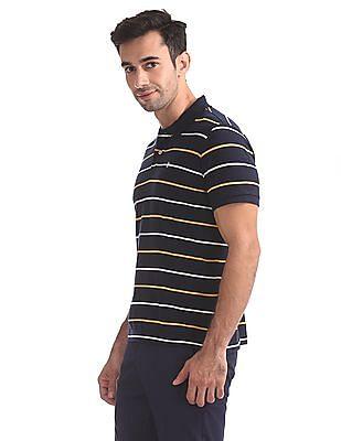 Izod Regular Fit Striped Polo Shirt
