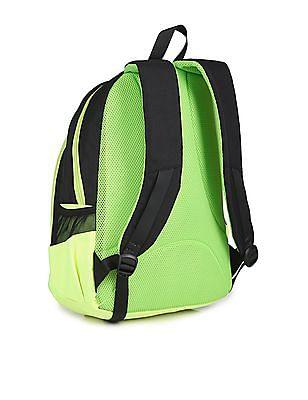 U.S. Polo Assn. Kids Boys Colour Block Printed Backpack