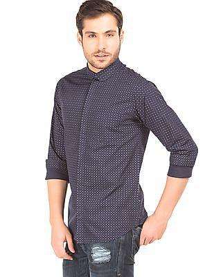 Excalibur Club Collar Super Slim Fit Shirt