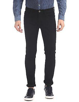 Cherokee Black Slim Fit Rinsed Jeans