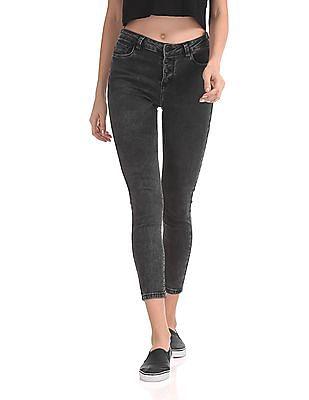 Cherokee Skinny Fit Dark Wash Jeans
