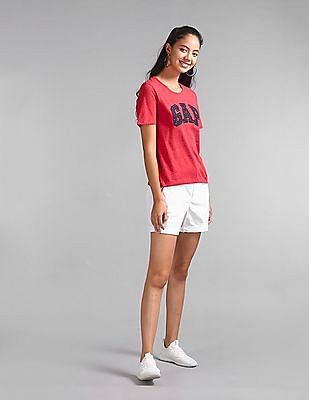 GAP Mid Rise Girlfriend Chino Shorts