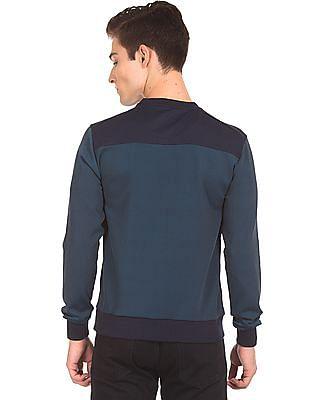 Arrow Sports Colour Block Sun Control Sweatshirt