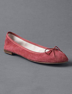 GAP Women Red Cinch Ballet Flats