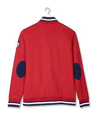 Izod Regular Fit Zip Up Sweatshirt
