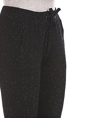 SUGR Black Speckled Active Joggers