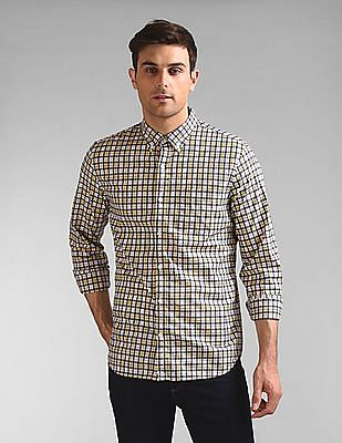 GAP Lived-In Stretch Poplin Shirt