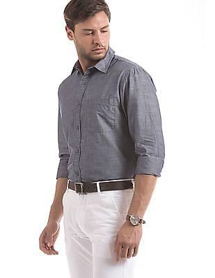 Izod Slim Fit Chambray Shirt