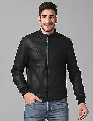 True Blue Slim Fit Panelled Jacket