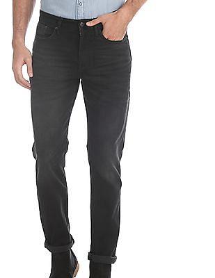 Aeropostale Black Dark Wash Skinny Fit Jeans