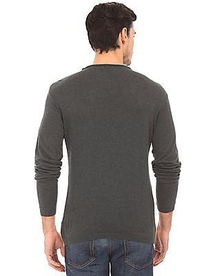 Cherokee Colour Blocked Cotton Sweater