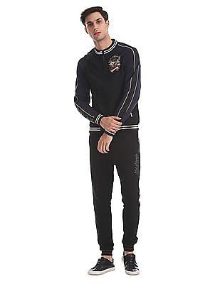 Ed Hardy Slim Fit Zip-Up Sweatshirt