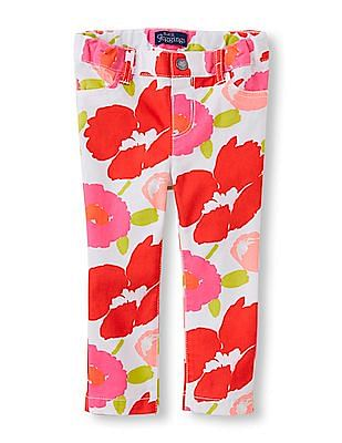 The Children's Place Toddler Girl Printed Jeggings