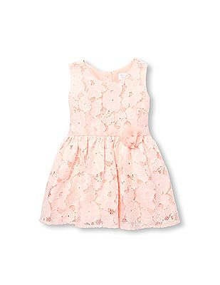 The Children's Place Toddler Girl Sleeveless Lace Dress