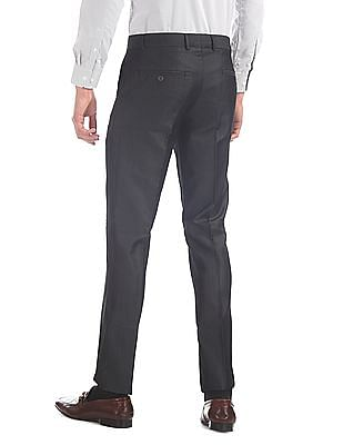 Excalibur Slim Fit Striped Trousers