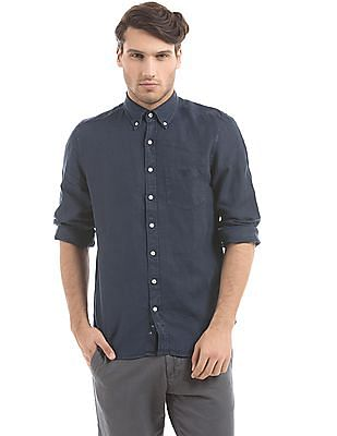 Gant Fitted Linen Shirt