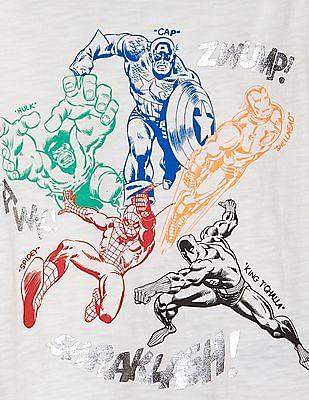 GAP Baby Marvel© Graphic Short Sleeve T-Shirt