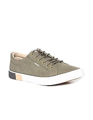 Flying Machine Round Toe Low Top Sneakers
