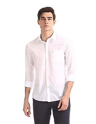 U.S. Polo Assn. Long Sleeve Tailored Regular Fit Shirt