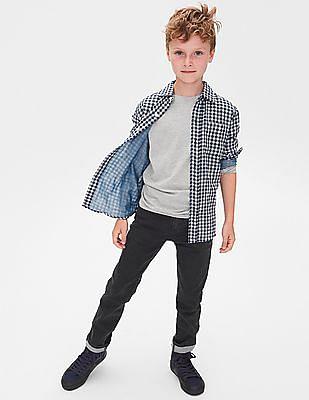 GAP Boys Double-Weave Convertible Shirt