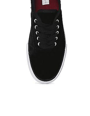 Aeropostale Contrast Sole Velvet Sneakers