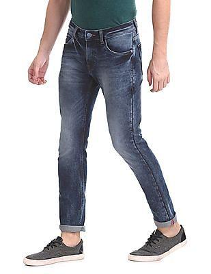 Ruf & Tuf Skinny Fit Stone Wash Jeans