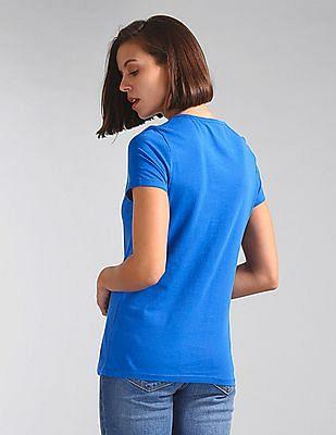 GAP Stud Embellished Short Sleeve T-Shirt