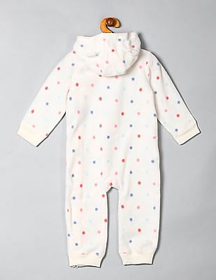 GAP Baby Logo Fleece Jumpsuit