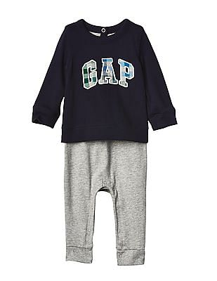 GAP Baby Logo Double Layer One Piece
