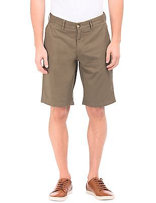 U.S. Polo Assn. Mid Rise Slim Fit Shorts