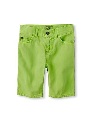 The Children's Place Boys Five-Pocket Woven Shorts