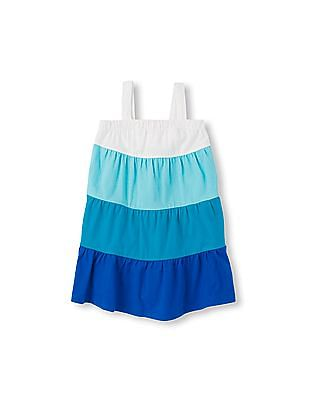 The Children's Place Toddler Girl Sleeveless Tiered Dress